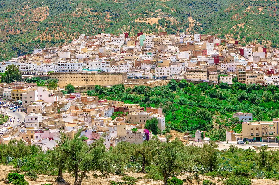 Do You Know What I Did last Summer? I visited Moulay Idris, Morocco.