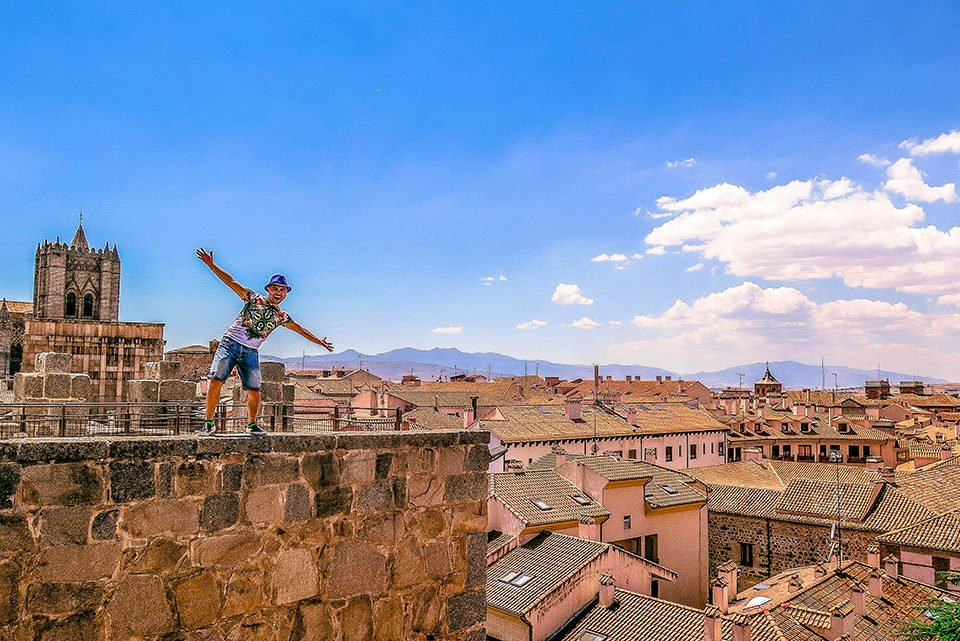 Do You Know What I Did last Summer? I visited Avila, Spain!