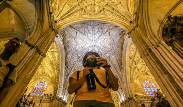 "Catedral de Sevilla (Seville Cathedral) is also known as ""The Cathedral of St. Mary of the See."" (Spain)"
