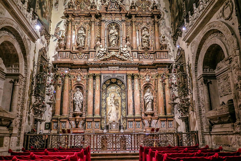 Sevilla Cathedral is the largest cathedral in the world. (Spain)