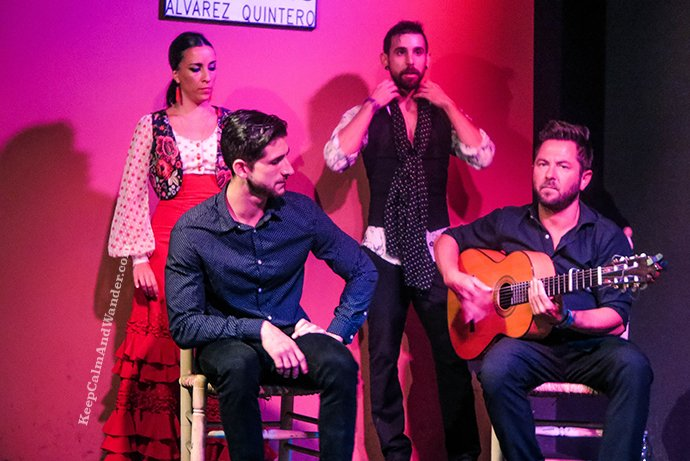 The Passion of Flamenco in Sevilla, Spain.