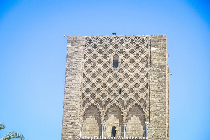 The Beauty of the Unfinished Hassan Tower in Rabat, Morocco.