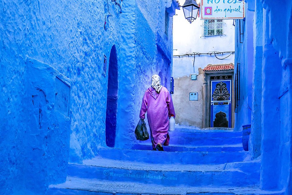 Chaouen - Morocco's Most Photogenic Blue City.