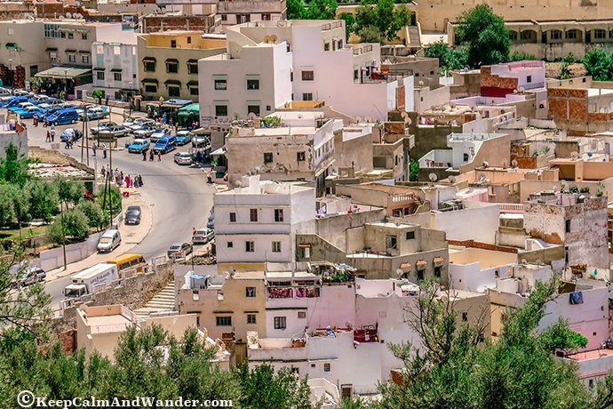 Moulay Idris - The Birthplace of Islam in Morocco.