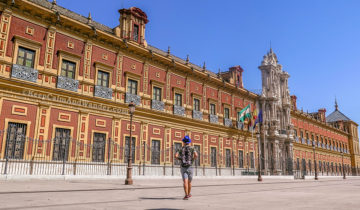 The Palace of San Telmo is Sevilla's most impressive Baroque building.