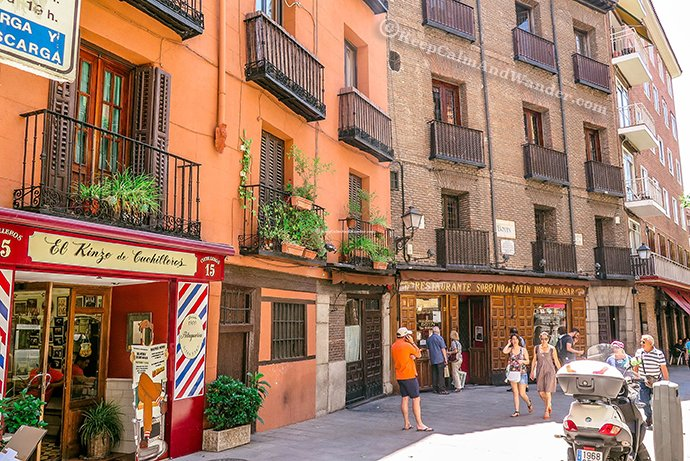 Botin in Madrid is the Oldest Restaurant in the World.