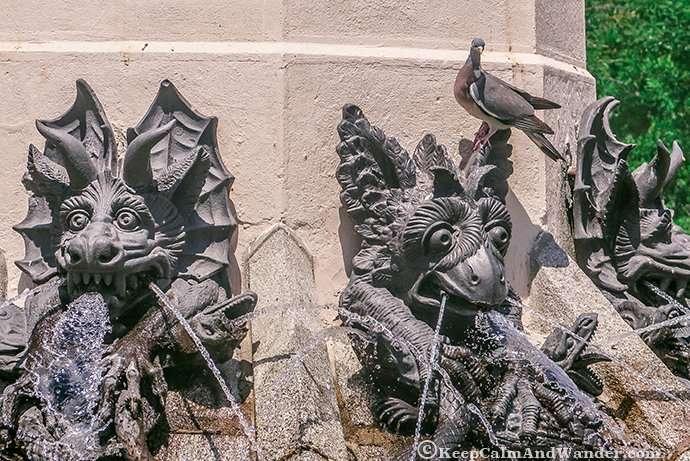 This Fallen Angel Sculpture is Dedicated to the Devil (Retiro Park, Madrid).
