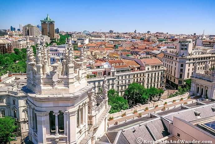 The Inside and Outside Beauty of Palacio Cibeles (Madrid, Spain).