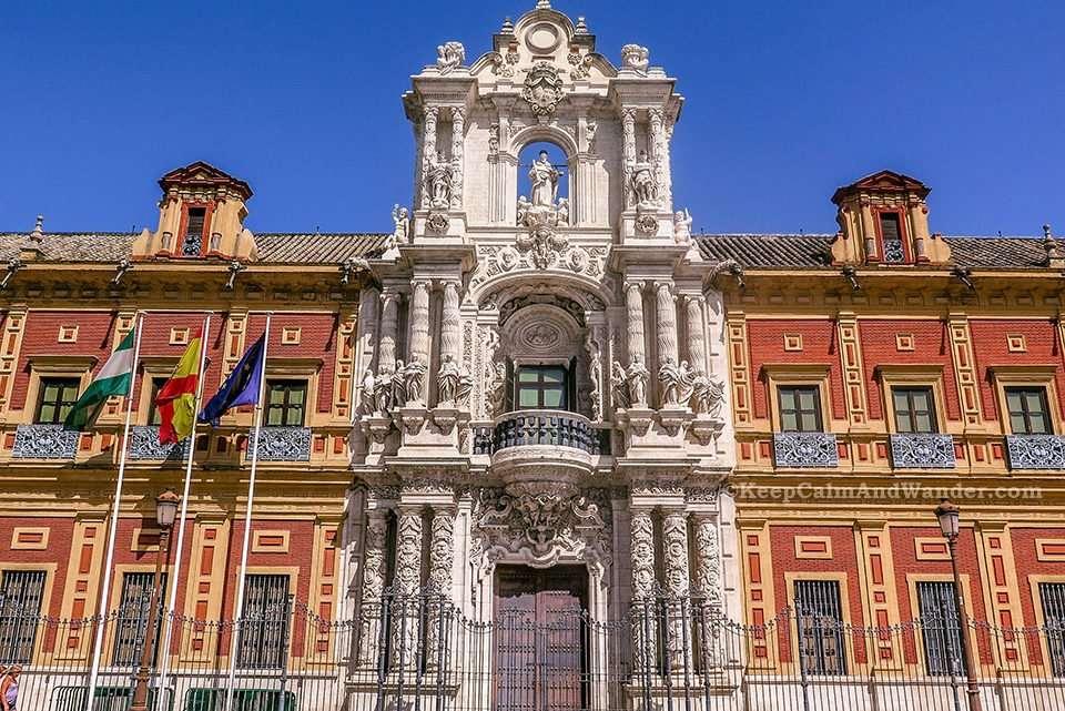 The Palacio de San Telmo is Sevilla's most impressive Baroque building.