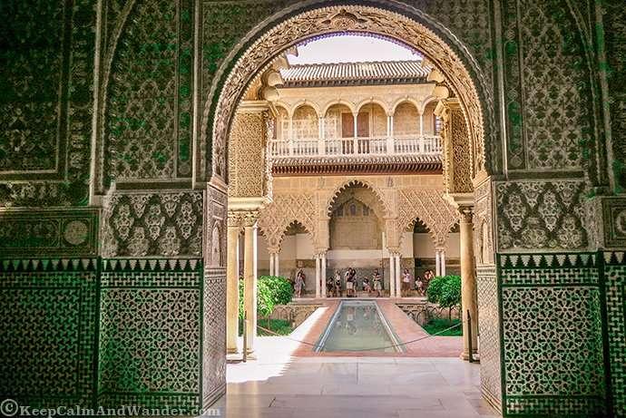 Time Stands Still at Seville Real Alcazar (Spain).