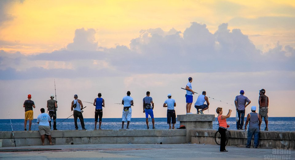 Malecon Sunset Havana