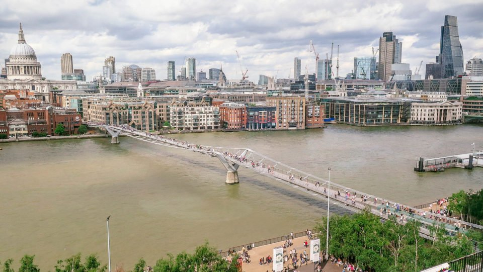 The Photogenic Millennium FootBridge (London, England).