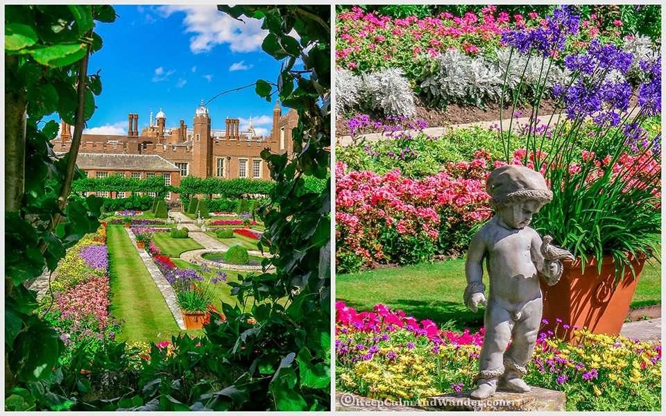 The Delightful Hampton Court Palace Gardens - The Pond Garden (London).