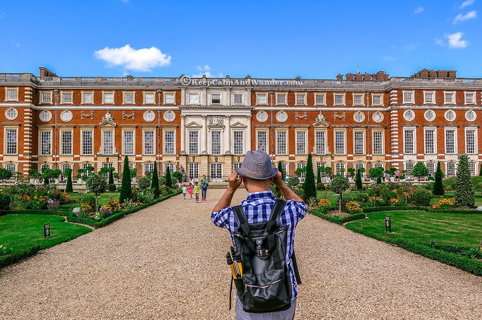 The Delightful Hampton Court Palace Gardens (London).