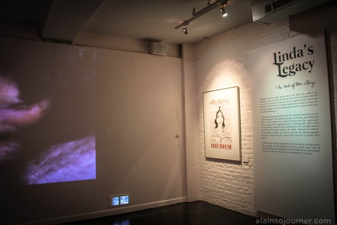 Linda Lovelace Museum of Sex New York