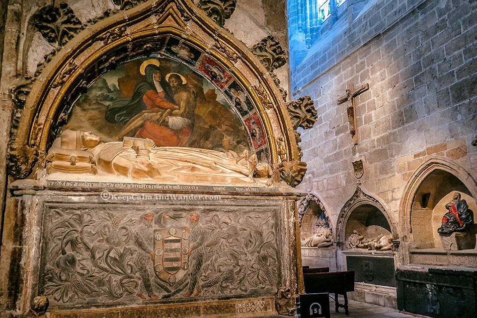 Inside Cathedral de Avila is the First Gothic Cathedral in Spain.