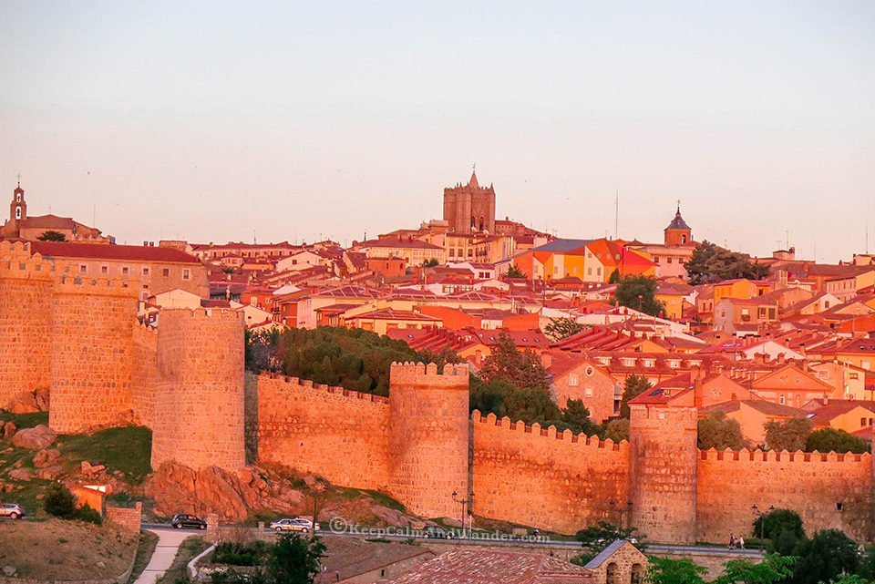 Avila is the essence of ancient Spain.