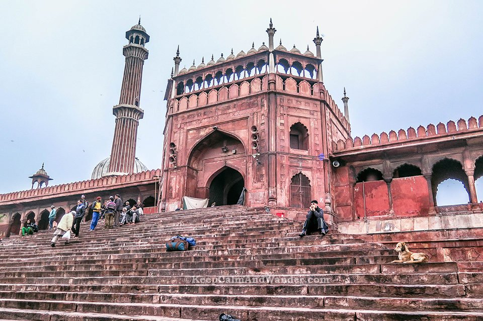 Jama Masjid is the Largest Mosque in India (New Delhi).