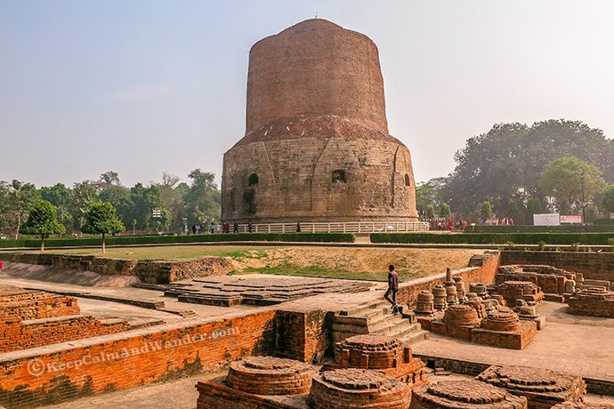 Sarnath - Where Buddha Preached His First Sermon