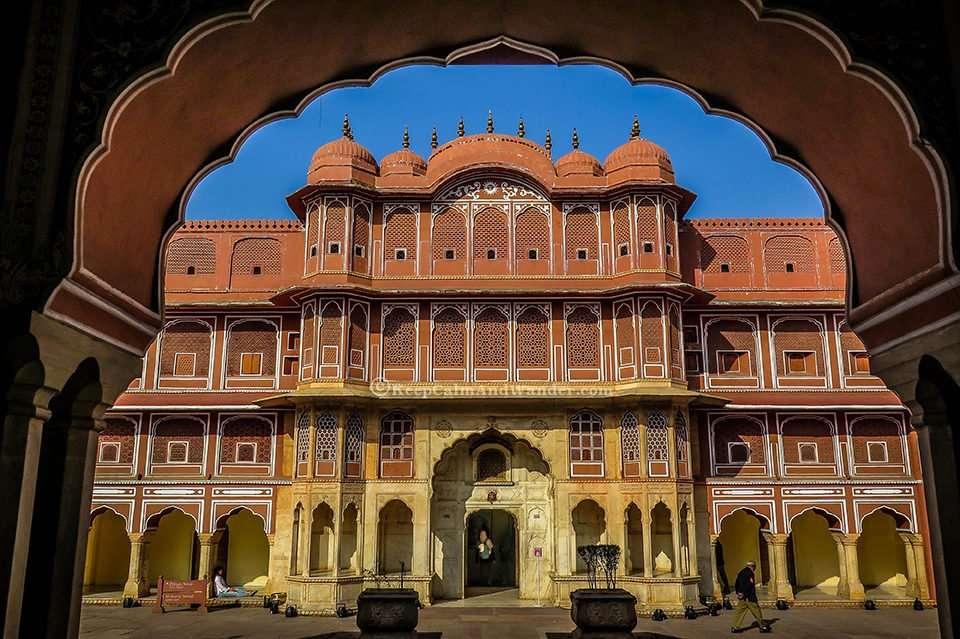 City Palace in Jaipur (Rajasthan, India).