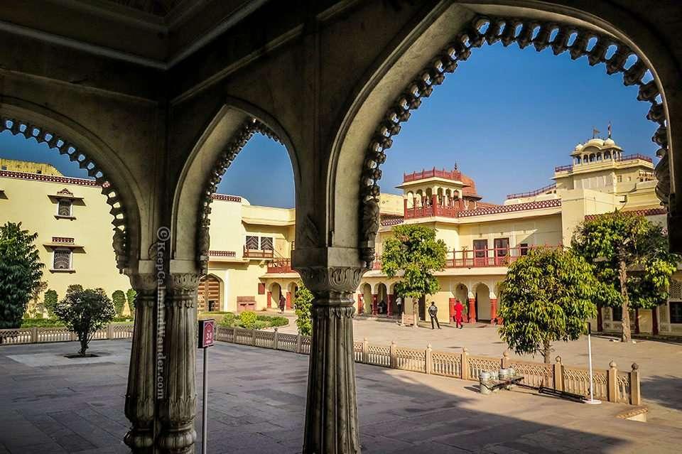Jaipur City Palace - Your Window to Royal Extravagance (Mubarak Mahal - Pink City, Jaipur, India).