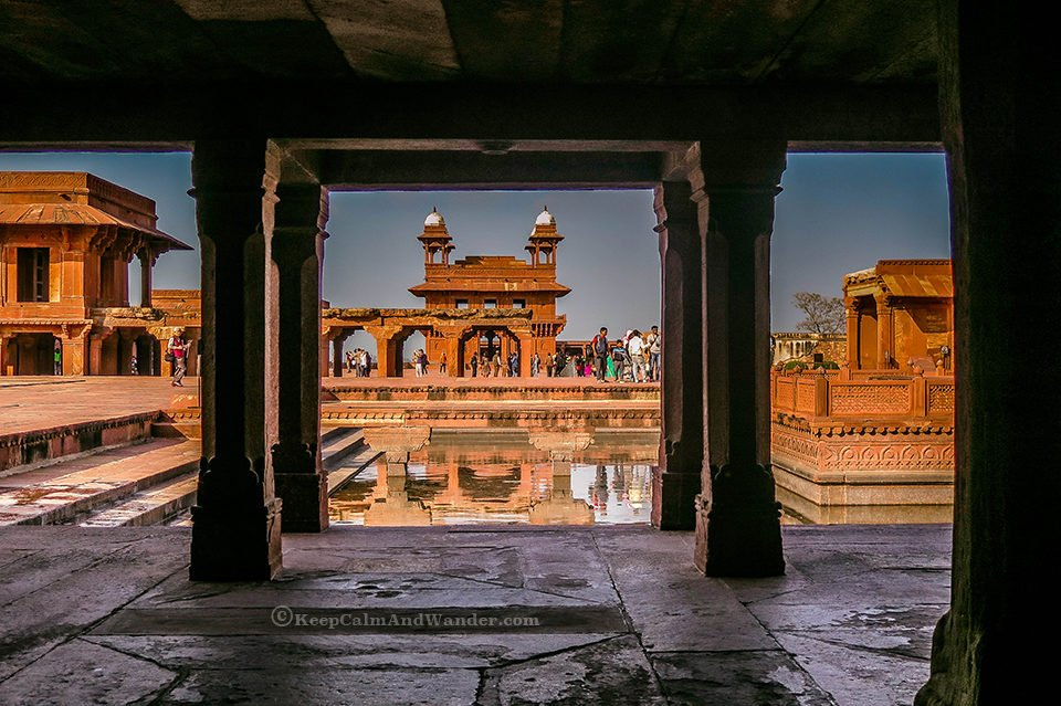 Fatehpur Sikri - the City of Victory (Agra, India).