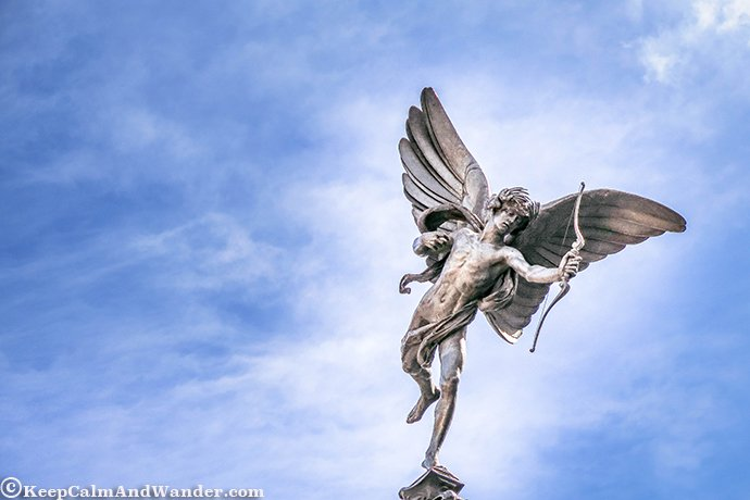I'll Meet You at the Statue of Eros at Piccadilly Circus (London)