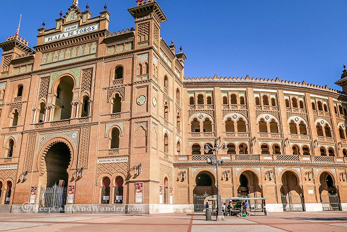 Plaza de Toros de Las Ventas - Where to Watch Bullfight in Madrid (Spain).