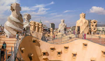 Casa Pedrera - The House That Looks Like a Quarry (Barcelona, Spain)