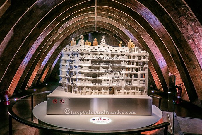 Casa Mila / Pedrera - The House That Looks Like a Quarry (Barcelona, Spain)
