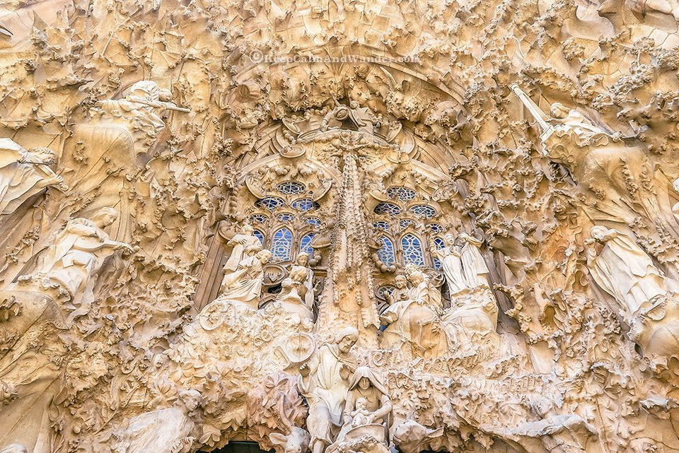 Nativity Facade The Symbols on the Facade of Sagrada Familia (Barcelona, Spain)