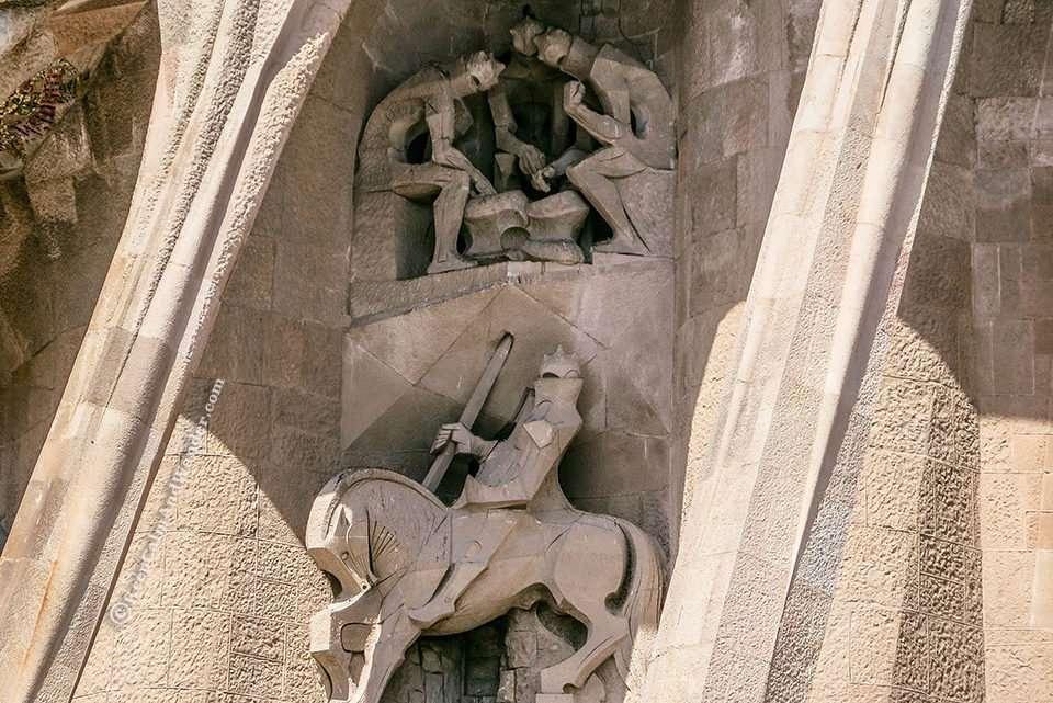The Symbols on the Facade of Sagrada Familia (Barcelona, Spain)