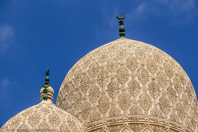 The Grand Al Mursi Masjid in Alexandria, Egypt.