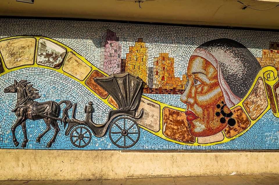 Murals Alexandria (Egypt).