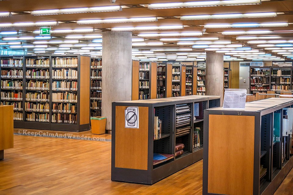 The Modern Library of Alexandria (Egypt). Rare Collection Room