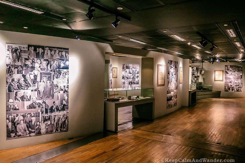 Sadat Museum The Modern Library of Alexandria (Egypt).
