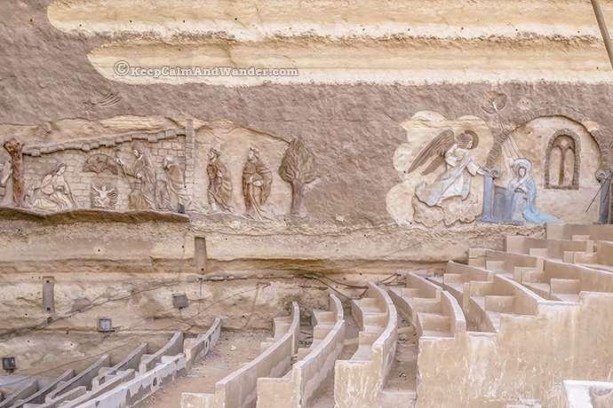 Cave Church in Cairo (aka Church of Saint Simon the Tanner).