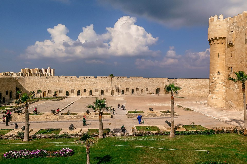 Citadel of Qaitbay - A Mediterranean Fort With A View (Alexandria, Egypt).