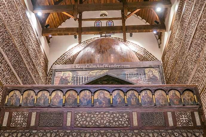Coptic Cairo - Church of Saints Sergius and Bacchus (Egypt).