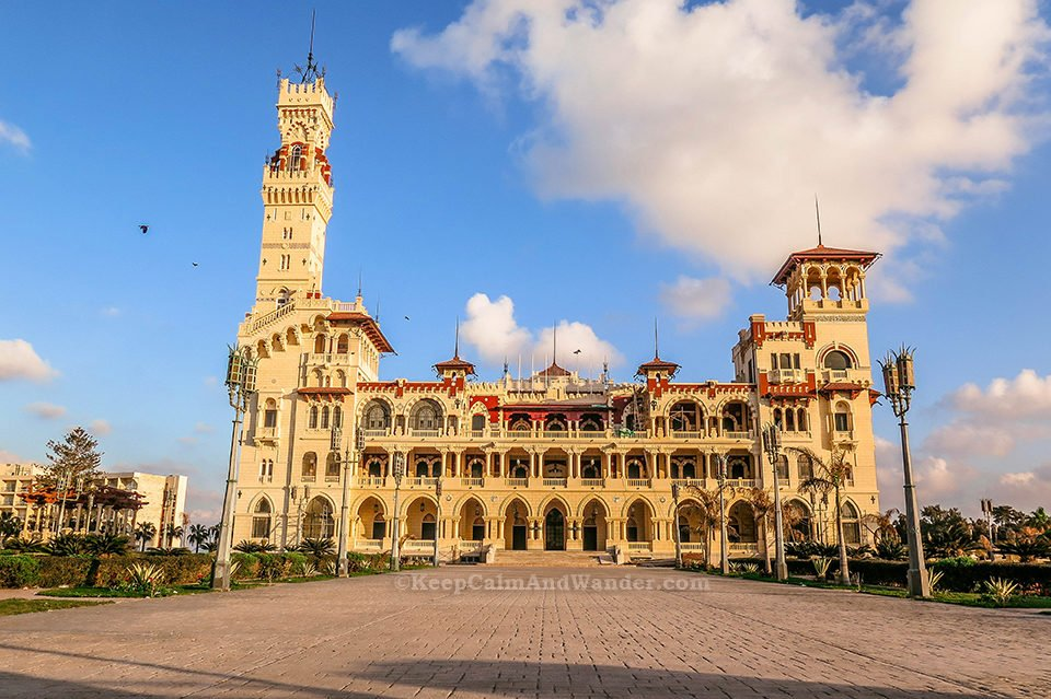 Montaza Palace Gardens - A Beautiful Refuge from the Heat (Alexandria, Egypt)