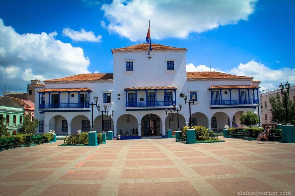 Ayuntamiento Neo Classical Architecture Santiago de Cuba