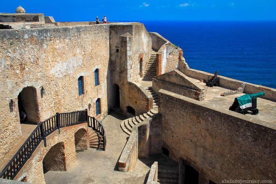 Castillo de San Pedro de la oca del Morro Santiago de Cuba