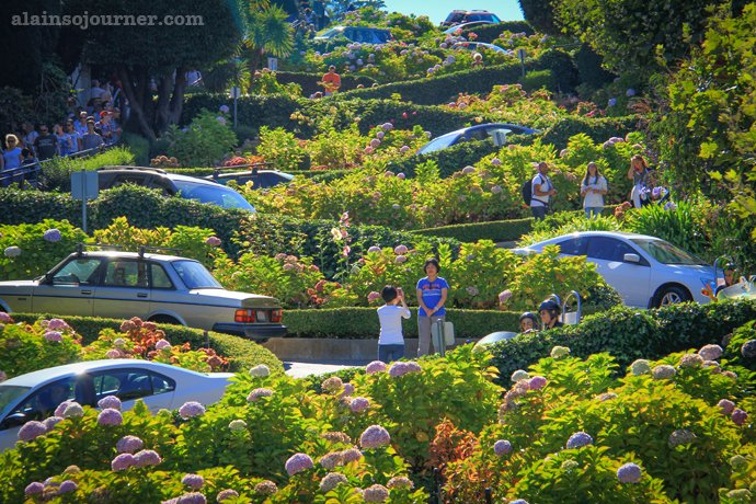 The Crookedest Street in the World