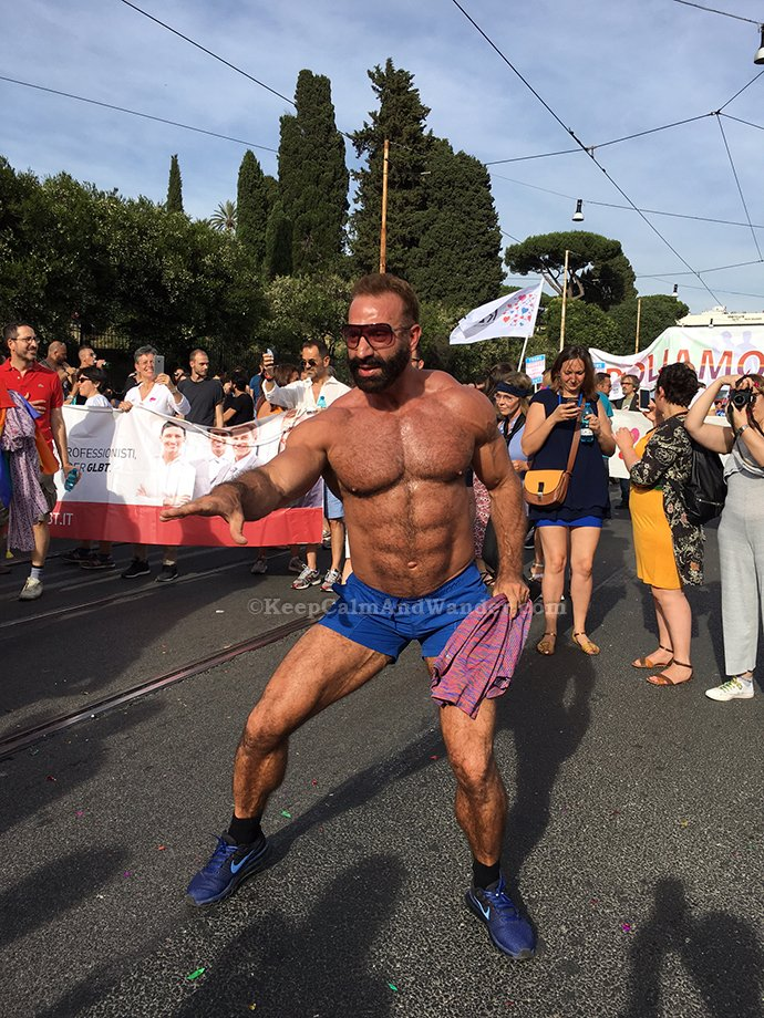 30 Photos: 2017 Rome Pride Parade.