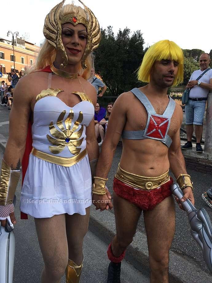 30 Photos: 2017 Rome Pride Parade.