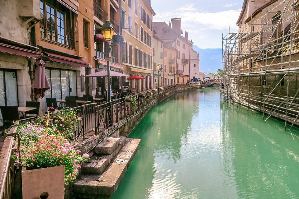 Annecy is a Charming Little Town in France.