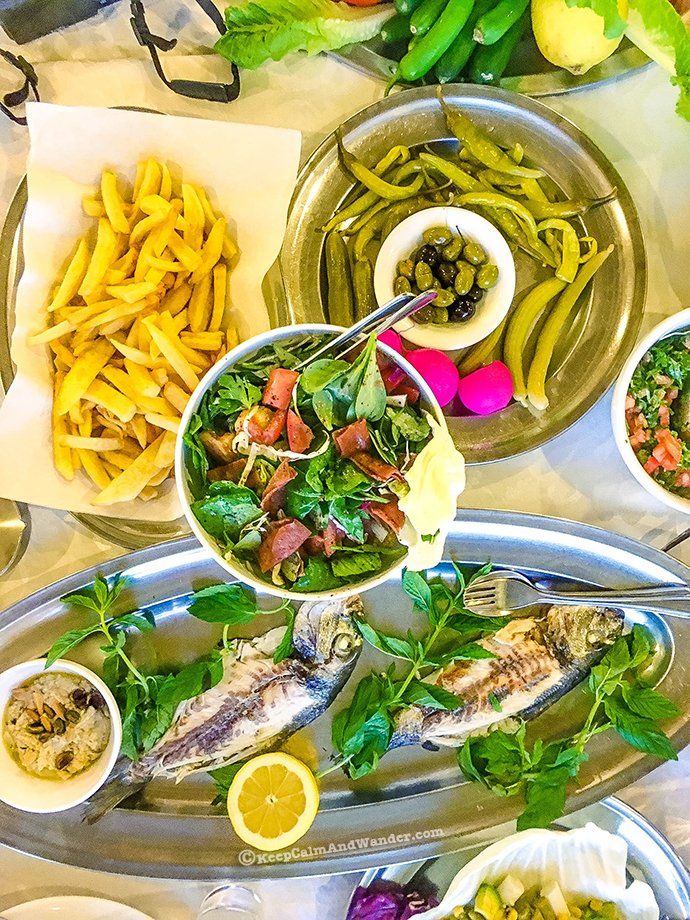 All the Lebanese Cuisine Food I Ate in Beirut.