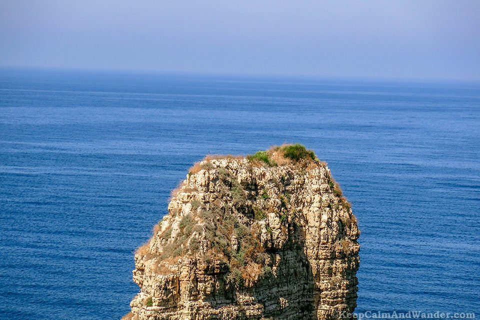 Beirut Pigeon Rocks - Guardians of the Sea? (Lebanon).