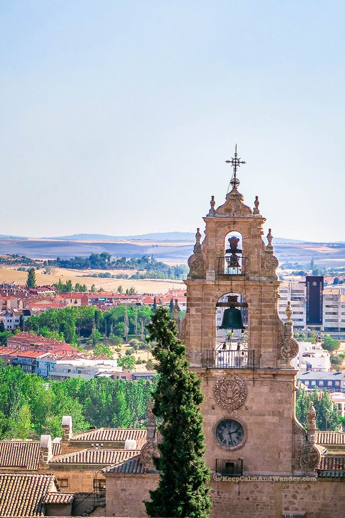 View from the Towers of La Clerecía (Salamanca, Spain).