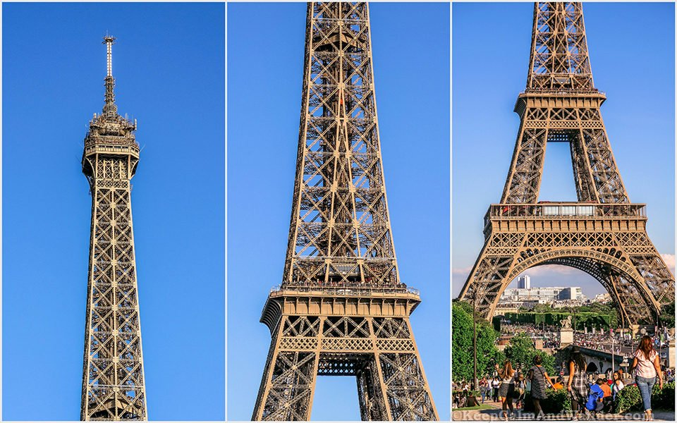 The Magnificent Eiffel Tower (Paris, France).